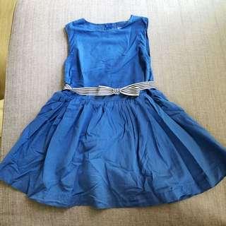 preloved Girl's blue dress