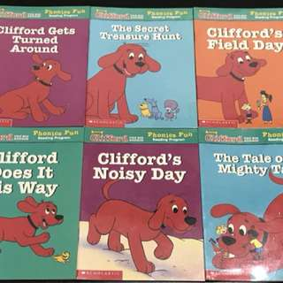 Clifford The Big Red Dog Phonics Fun - Pack 6