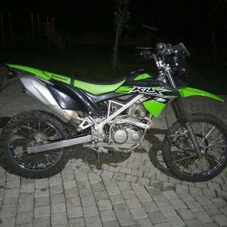 Kawasaki KLX BF 150 tahun 2017