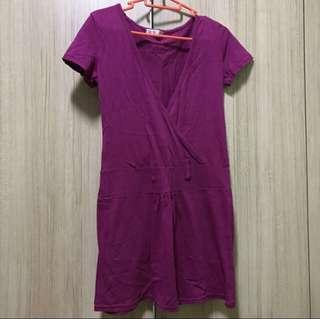Give Away Free Maroon Dress