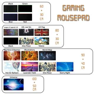 Anti-Slip Gaming Mousepad / Mouse Pad