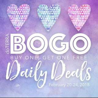 doTERRA Products BUY ONE GET ONE Promo