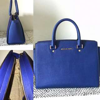 Michael Kors Navy Blue Medium