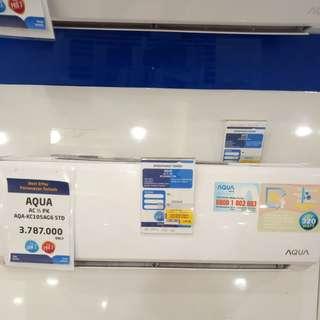 AC Aqua bisa cicilan