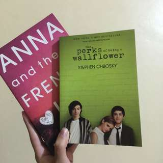 50% OFF: Anna & the French Kiss, Perks of Being a Wallflower