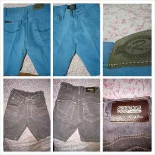 all in shorts:blue(rrj kids)streer jeans