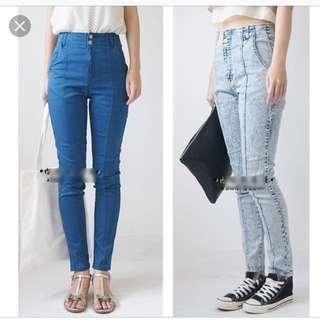 日本 日牌 heather 高腰 牛仔褲 拯救所有短上衣