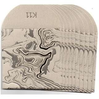 2018 K11 商場 啡金色 利是封 紅封包 短封 1包10個 限量版 商場紀念品