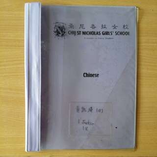 CHIJ St Nicholas Girls' School Chinese File