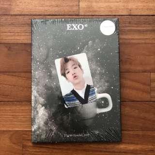 instocks sealed unsealed exo universe baekhyun pc photocard winter 2017 album