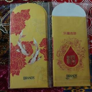 BNIB Brands Red Packets
