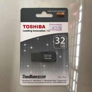 Toshiba 32GB USB Flash Memory