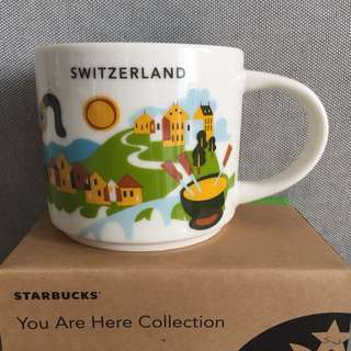 Starbucks You Are Here Series - Switzerland