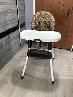 Graco baby high-chair booster seat combo