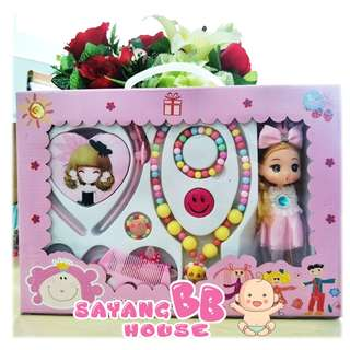 1801006-LL00185  kids girls Children's Jewelry Box Set Play Toys Set