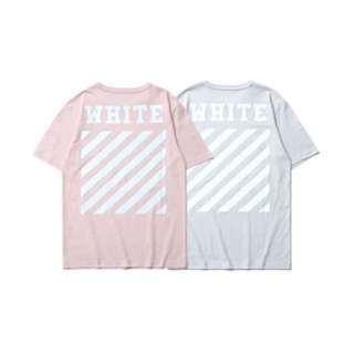PINK OFF-WHITE TEE