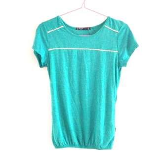 BNWT T-Shirt (Green & Blue)