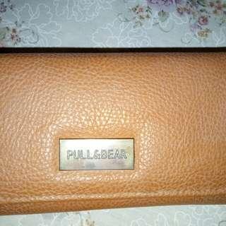 Dompet kulit pull & bear