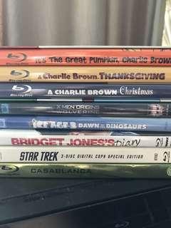 8 Blu-Ray Discs