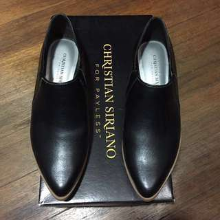 Christian Siriano Payless Black Pointed Boots (reduced from Php 1000)