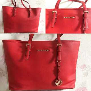 Michael Kors Red Large