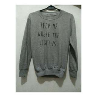 """sweater john mayer quotes """"keep me where the light is"""""""