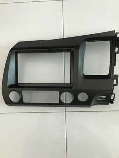 Honda Civic FD double din audio panel