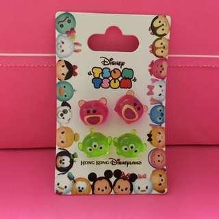 (全新) HK Disney Toy Story造型耳環