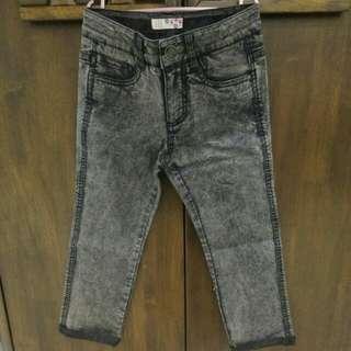 Seed basic asid black jeans
