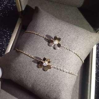 18K鑽石手鍊