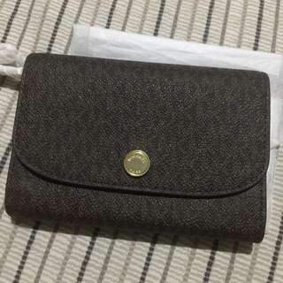 MK Wallet with detachable coin purse