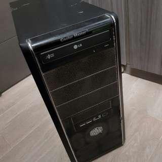 桌上電腦 desktop 連speaker 喇叭 240GB SSD  12GB RAM