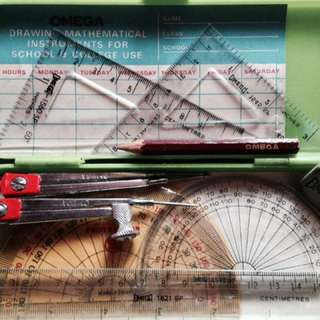 OMEGA Mathematical Drawing Instruments