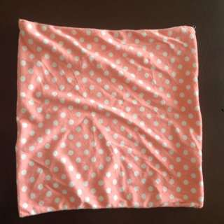 Polkadot pillow case
