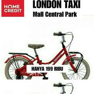 Kredit Sepeda London Taxy Cicilan Tanpa Kartu Kredit