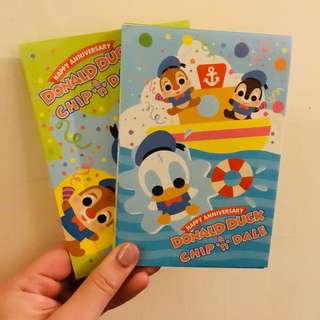 Chip & Dale + Donald Duck信封 多款