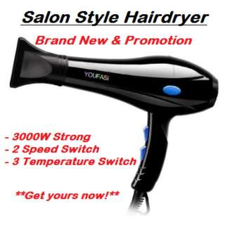 Hairdryer 3000W - Quality & Brand New