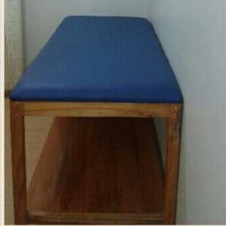 Mahogany treatment table