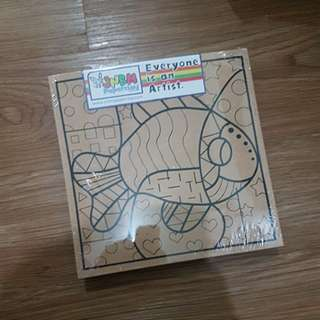 Paper Clay Painting set