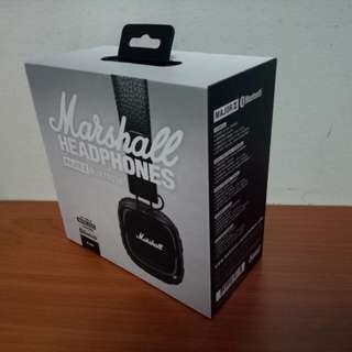 (BNIB) Marshall Major II Bluetooth Headphones