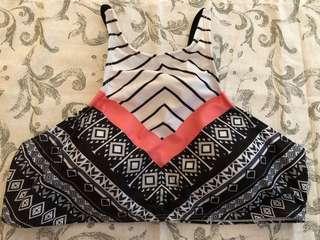 [BN] Black and Pink 2PC Bikini (M size)