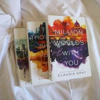 [set] Firebird Trilogy by Claudia Gray