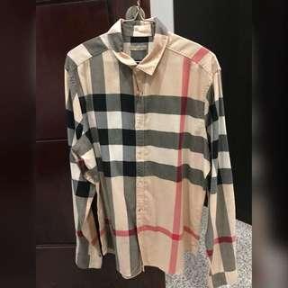 Burberry brit checkered shirt