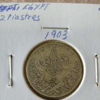 1903 Egypt 2 Qirsh