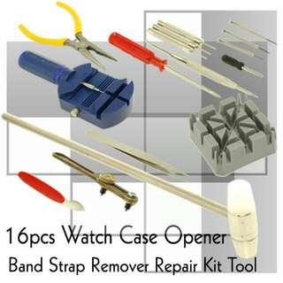 16 PCS Professional Watch Repair Tools
