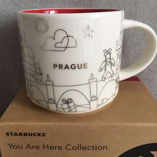 Starbucks You Are Here Series - Prague v2 Christmas edition 2017
