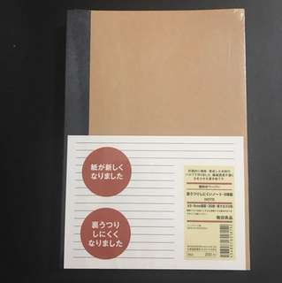 (Sealed) A5 Muji Notebooks