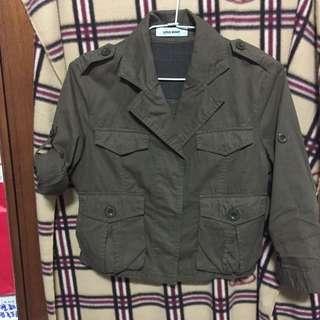 🚚 軍裝短外套
