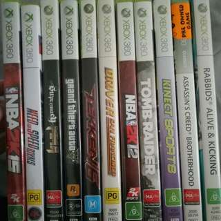 Xbox 360 Games... Very Good Condition