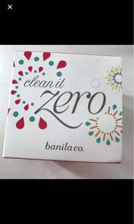 Banilla co Clean It Zero